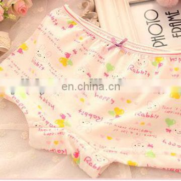lovely carton cotton children underwear
