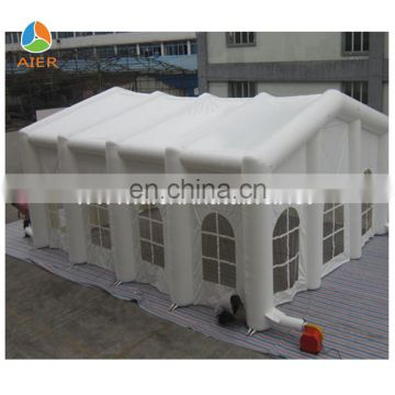 10x6 stitched UV Resistant 40 person big outdoor event tent, outdoor inflatable event party tent, giant inflatable LED tent