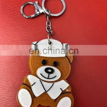 2017 new fashion Wholesale mirror keychain