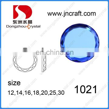 Best quality of crystal glass stone for garment beads,loose beads