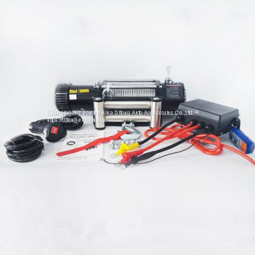 4x4 16000lbs 7248kg electric winch machine/electric winch 240v/portable electric winch