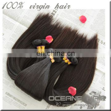 New style best selling all textures full cuticle large stock fast delivery double drawn cheap straight human hair weft