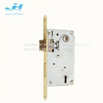 Russia 9171 series door lock security door lock 45mm backset with keys mortise door lock body with cylinder hole