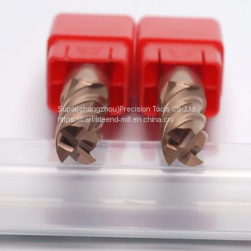 High Precision Solid Carbide End Mills for Steel 4Flutes Diameter 1-20mm High Precision Cutting Tools