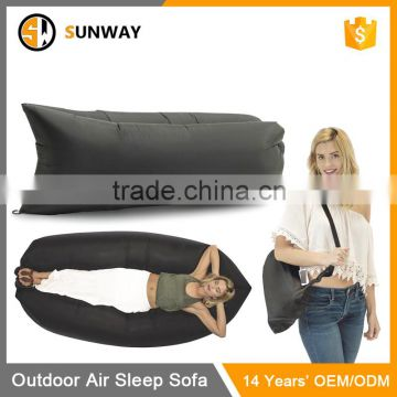 China Manufacturer Good Quality Ourdoor Bed Fast Inflatable Lounger