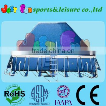 European standard good quality outdoor metal frame pool,Above Ground Swimming Pool                                                                         Quality Choice