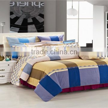 four six factory price 2014 new pattern 100% cotton queen king full twin size 3d bedding duvet cover set