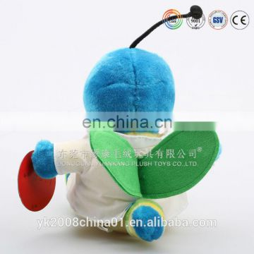 High quality custom made plush flying bee toy