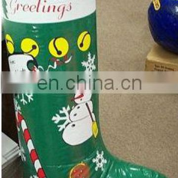 inflatable advertising seasons greeting stocking