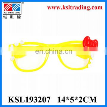 Promotional toy plastic kids toy fake glasses