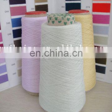 Ne 6/1 glove Yarn cotton blended Yarn for glovesTOP grade dyed Yarn 60/40 CVC