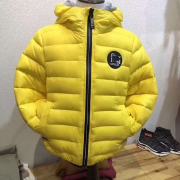 New children's down jacket children's cotton clothing light down jacket in the long down jacket children's vest children's liner