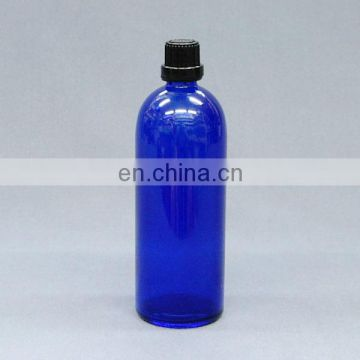 Standard DIN PP 18MM neck finish amber/cobalt blue/clear glass empty glass bottle 200ml