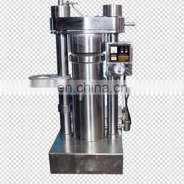 Stainless steel hydraulic sesame peanut pressing oil extraction walnut oil press machine