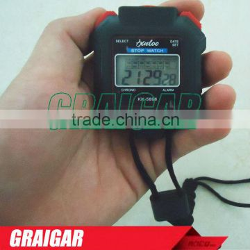 Portable Stopwatch LCD Digital Professional Chronograph Timer Counter Sports New
