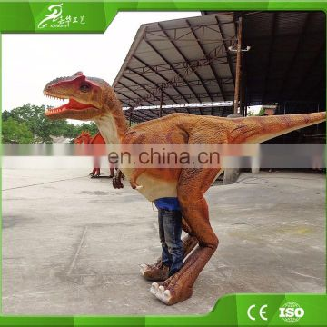 KAWAH Popular Attractive Man Control Dinosaur Cosplay Costume for sale