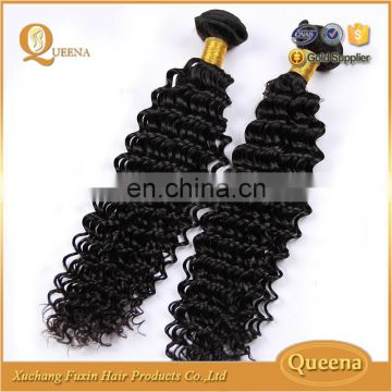 Bohemian Wet And Wavy Indian Remy Hair Weave Deep Curl Indian Hairstyle For Long Hair