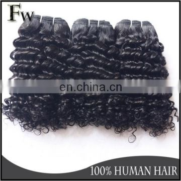 Hot grade 8A organic hair extension for sale aliexpress brazilian hair virgin remy curly human hair weave wholesale