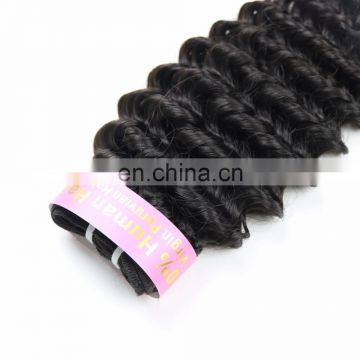 Youth Beauty Hair 2017 best saling peruvian human virgin hair weaving in deep curl wholesale price.