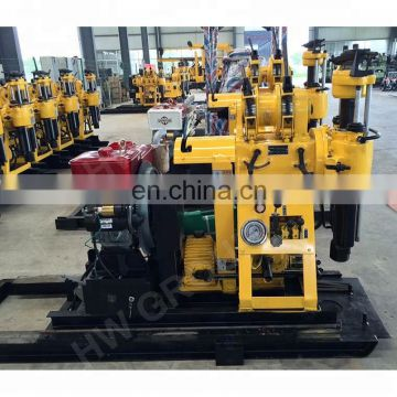 Portable hydraulic borehole water well drilling rig for sales