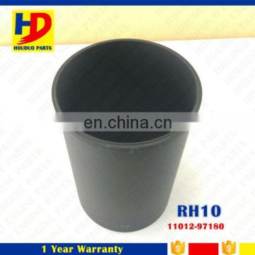 11012-97180 Excavator Diesel Engine Parts RH10 Cylinder Liner For Nissan