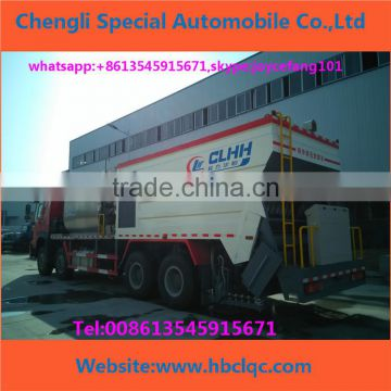 Sinotruck Howo 8*4 For Road Construction Crushed Stone Seal Synchronous Chip Sealer