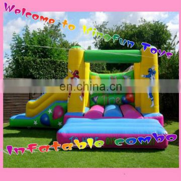 Party time jumping inflatable combo