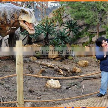 Zoo animal giant animated dinosaur model