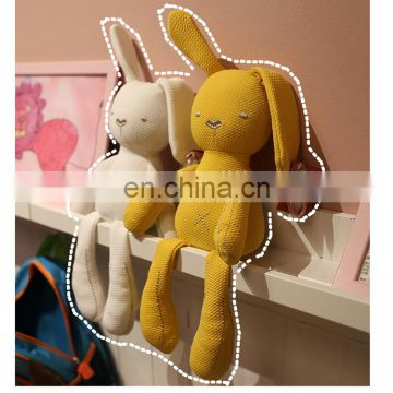 Export to the United Kingdom ~ lovely soft sleeping doll, good long ear rabbit, appease rabbit