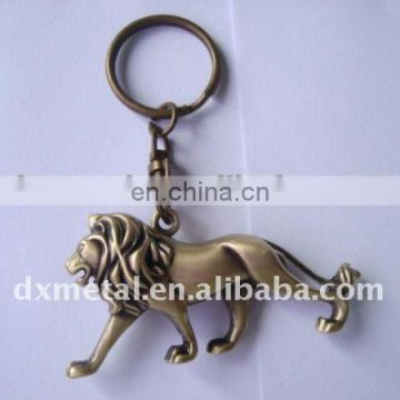 3D standing lion key chain lion keyring
