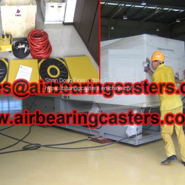 Air bearings casters update information