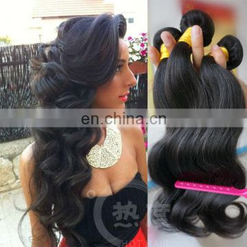 TOP quality grade 7A hair factory price Mongolia hair body wave clip in hair extensions for black women