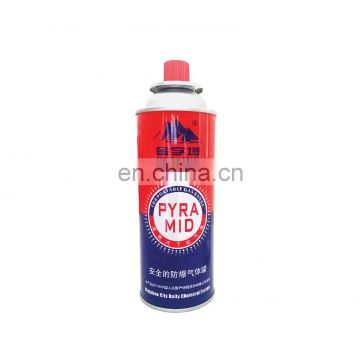 China butane gas fuel 227g and grilling accessories for grill 227g