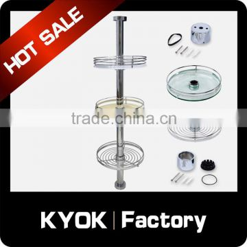 KYOK hot selling kitchen furniture china,storage basket for freezer,pole system series wholesale in foshan