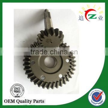 Chinese Manufacturer tricycle 15/37 crown wheel and pinion gear for pakistan market