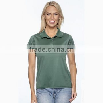 Hot selling custom polyester Custom Ladies Sport Shirt