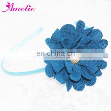 AH838 Blue Color Wholesale Funny Headbands