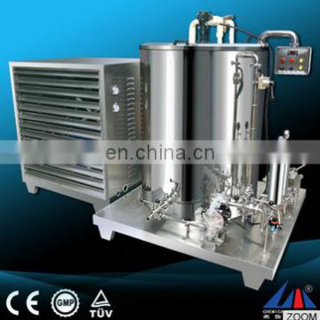 freezing mixing and filtering stainless steel 200l perfume making machine