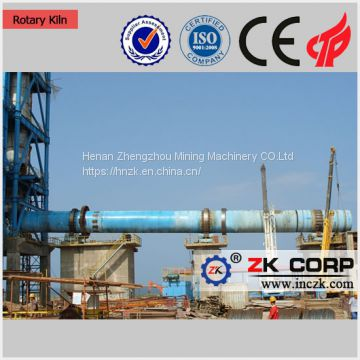 Small Used  Cement Activated Carbon Lime Pottery Ceramic Rotary Kiln