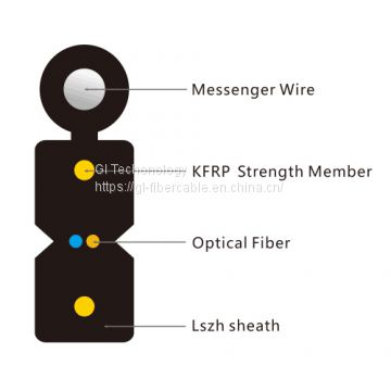 ftth single mode outdoor fiber cable