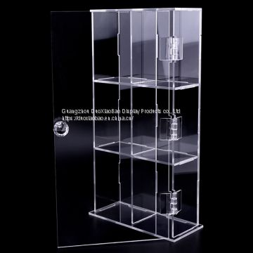 Custom Duo Xiao Bao Open display case Acrylic open door display box