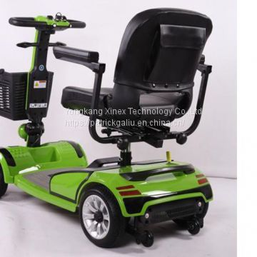 4 wheel electric mobility scooter for seniors with turn signals