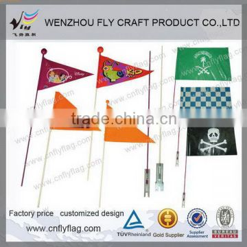 2015 advertising bike flag bicycle advertising