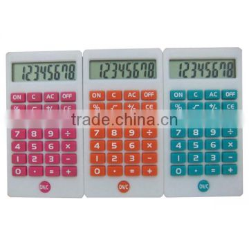 Simple large button office basic caculator 8 large digit Genie calculator