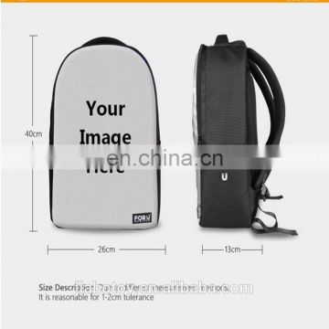 Hot Sale Bolsas Mochila Feminina Mojo Style Rock Skull Boys Teenager Backpack 17 inch Laptop Backpack Student Computer Backpack