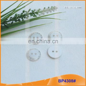 2 hole Resin Button for Garments Polyester Buttons BP4308