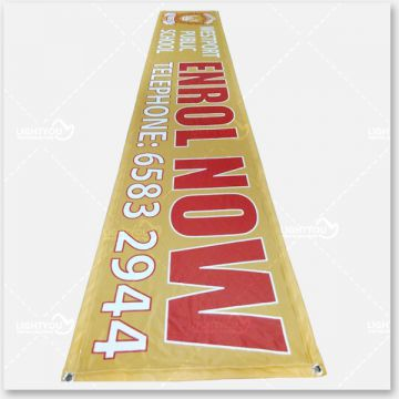Cheap Custom polyester Fabric Flags and Banners