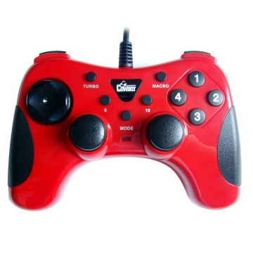 Factory direct sale wired usb gamepad skid resistance game controllers PC joysticks