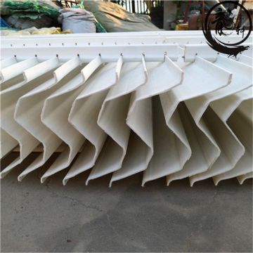 Used For Gas Entrained Pvc Water Mist Eliminator Cooling Tower Cooling Tower Mist Eliminator