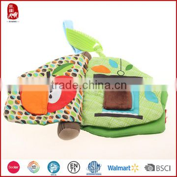 Sedex EN71 Certification Eco Friendly Popular Baby Educational Toys Soft Fabric Cloth Books For Kids